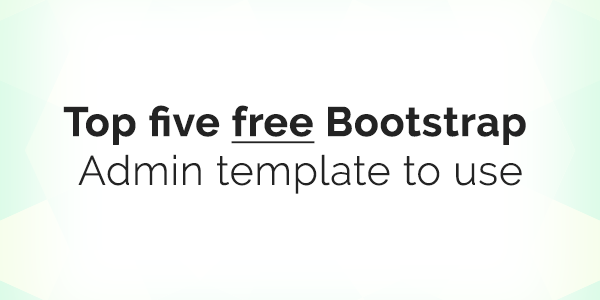 top-five-bootstrap-admin-template