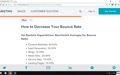 5 Ways to Decrease Bounce Rates in the Next Week
