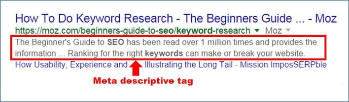 Don't Neglect Meta Descriptions