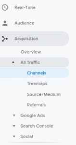 Channel Grouping for Better Targeting