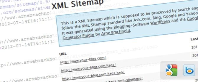 Create a Google XML Sitemap
